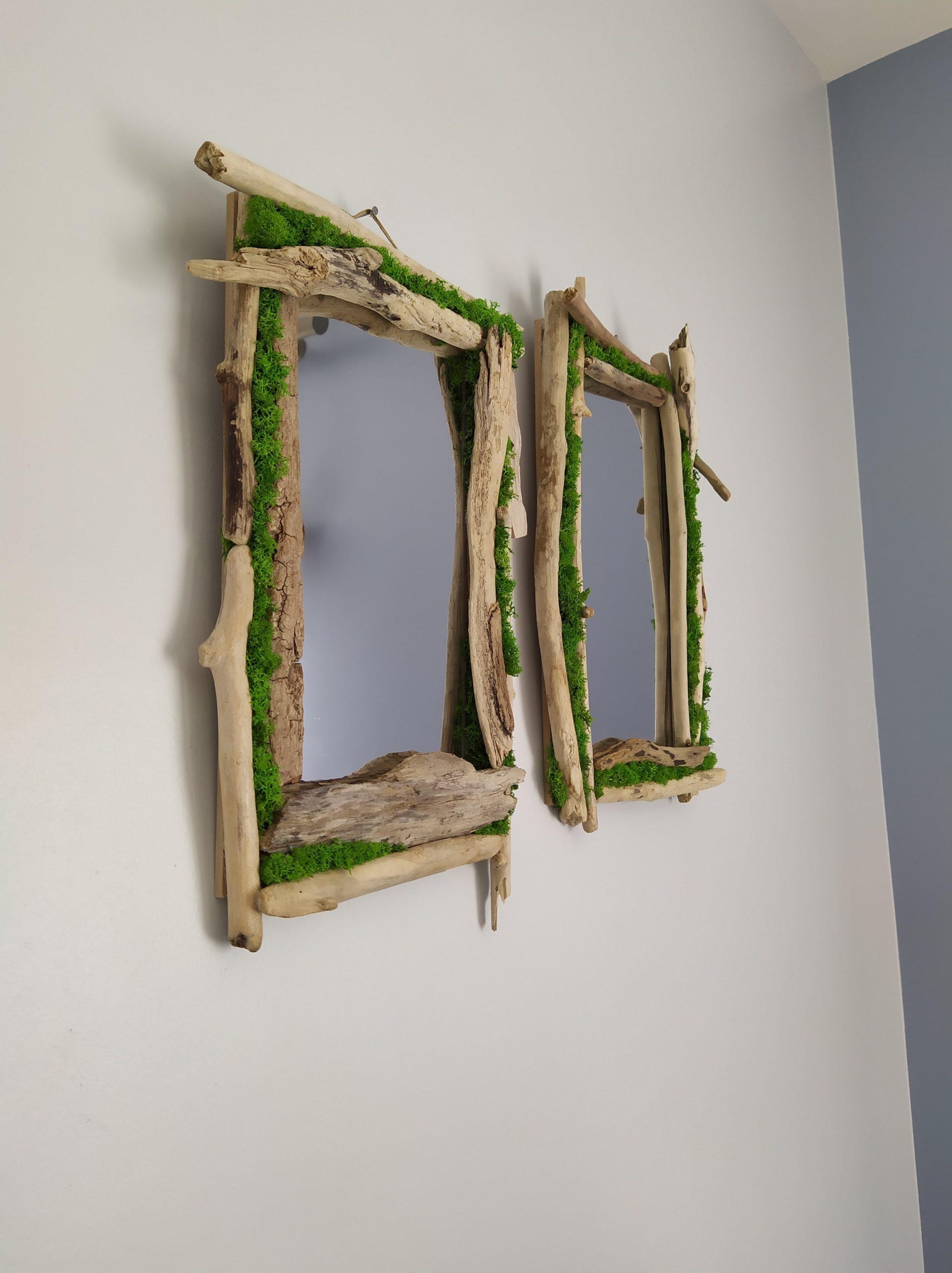 Miroir végétalisé-réf.66 ou 67