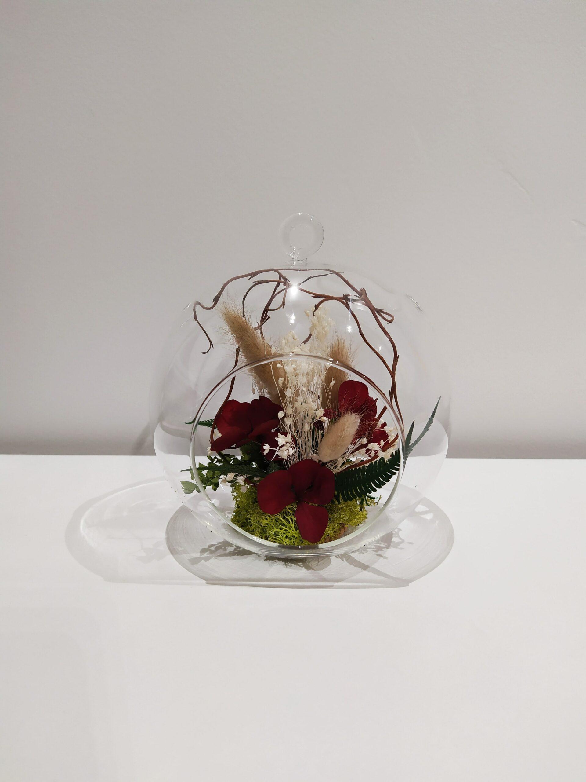 boule fleurie-réf.140